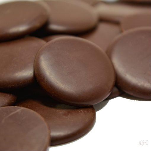 Cukormentes 58% ét csokoládépasztilla Kolumbia (10g)