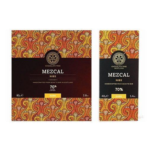 Chocolate Tree étcsokoládé Mezcal 80g