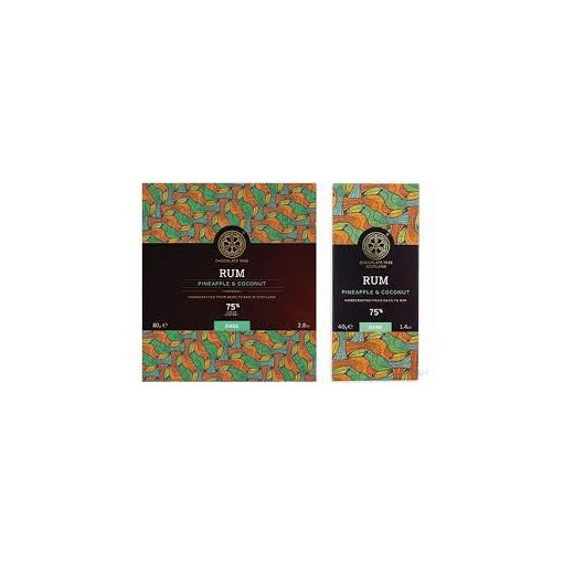 Chocolate Tree étcsokoládé Rum 80g