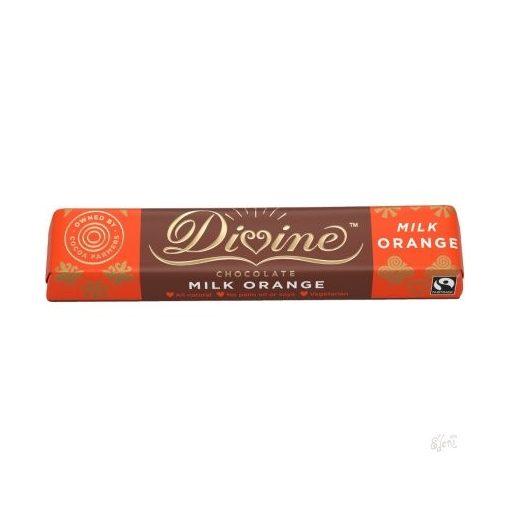 Divine tejcsokoládé narancsos 35g