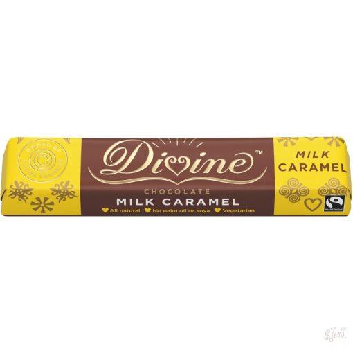 Divine tejcsokoládé karamellás 35g