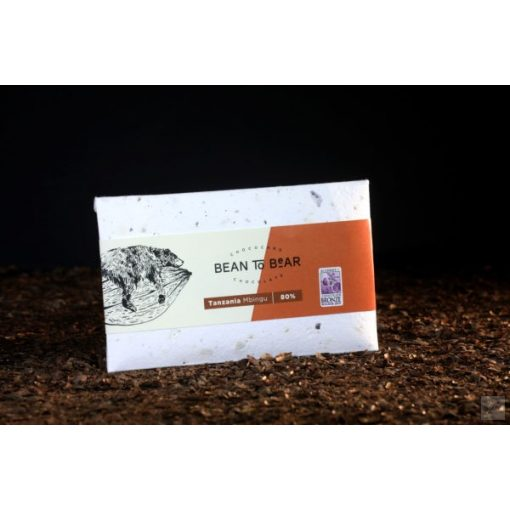 Chococard Tanzánia 80% étcsokoládé 80g
