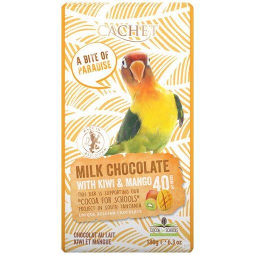 Cachet tejcsokoládé kiwi-mangó 180g