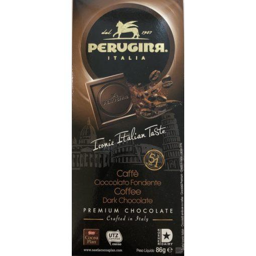 Perugina étcsokoládé kávés 86g