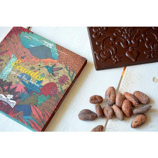 Rózsavölgyi Ecuador 73% étcsokoládé 70g