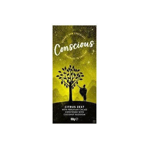 CONSCIOUS étcsokoládé Peru citrusos 60g