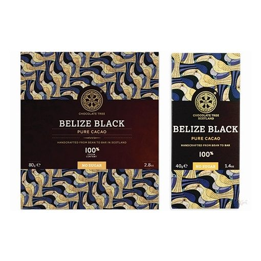 Chocolate Tree 100% étcsokoládé Belize Black 80g