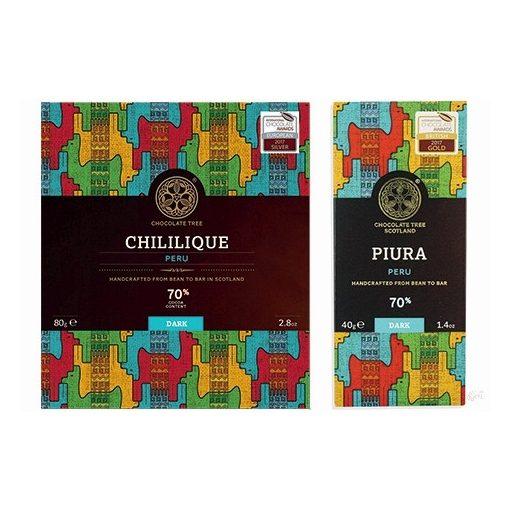 Chocolate Tree Chililique Peru 70% étcsokoládé 80g