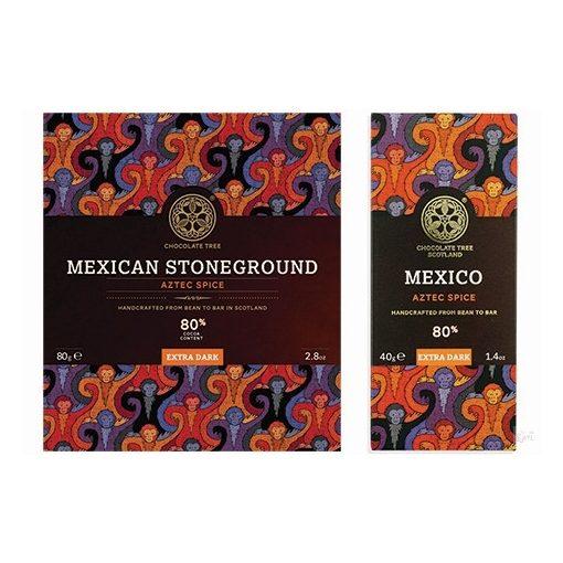 Chocolate Tree Mexikó 80% étcsokoládé azték fűszeres 80g