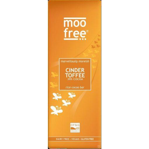 Moo Free tejcsokoládé jellegű csokoládé karamellás 80g