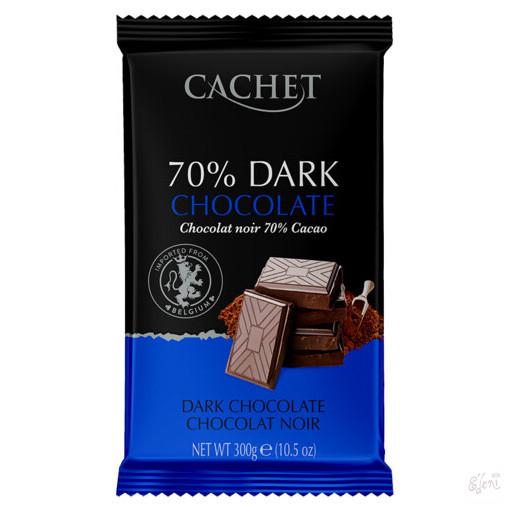 Cachet 70% étcsokoládé 300g