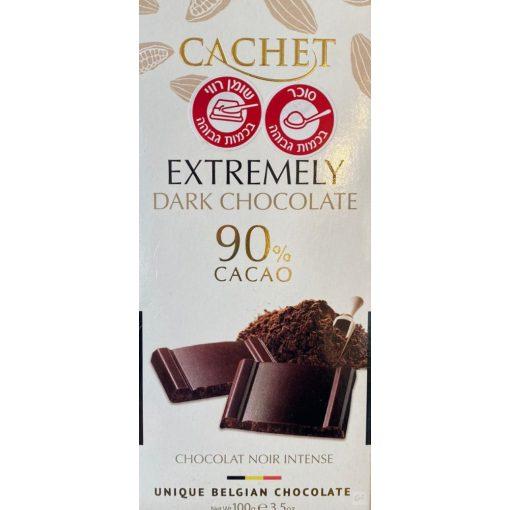 Cachet 90% étcsokoládé 100g