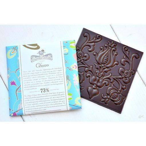 Rózsavölgyi étcsokoládé 73% Chuao 70g