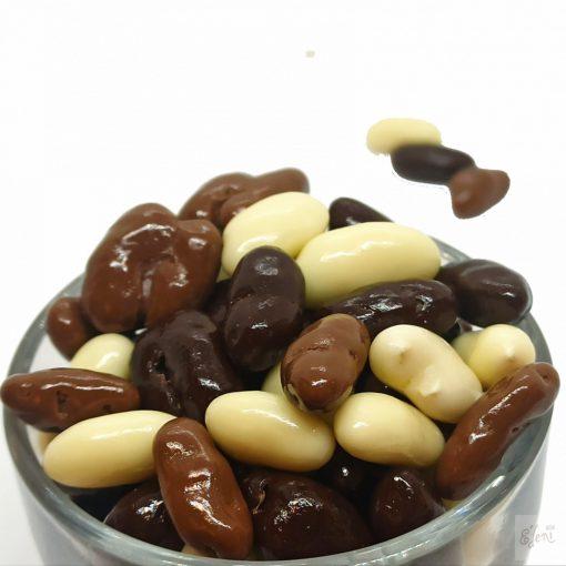 Zebra Zizi drazsé - puffasztott rizs vegyes csokoládéban (10g)