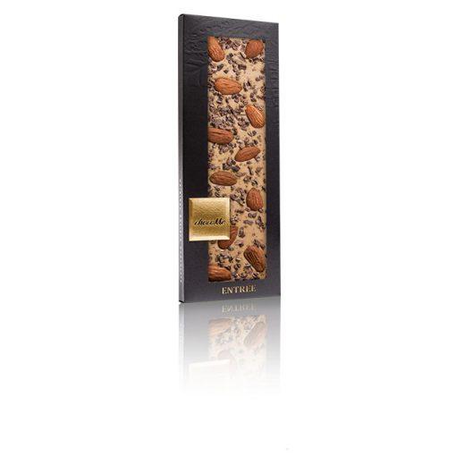 ChocoMe szőke csokoládé (tonkabab, szicíliai mandula, aprított kakaóbab) - BL102