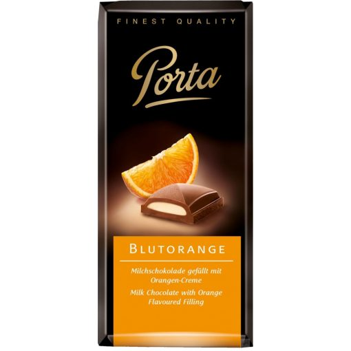 Porta Vérnarancsos krémmel töltött tejcsokoládé 100g
