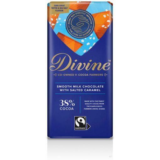 Divine tejcsokolád tengeri só-karamell 90g