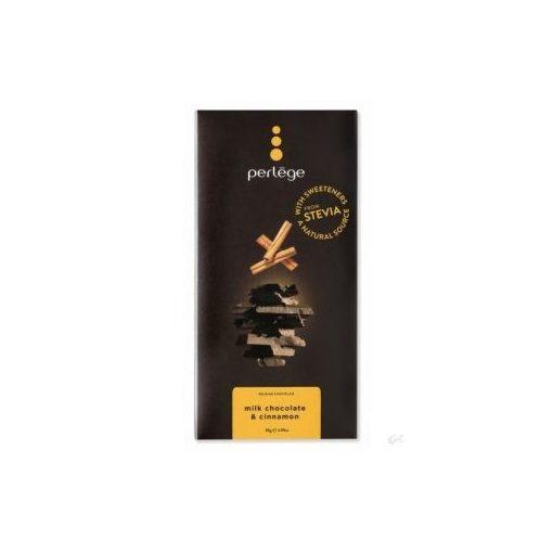 Perlege cukormentes/diabetikus tejcsokoládé fahéjas 85g