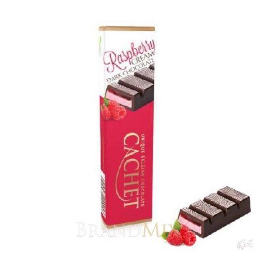 Cachet étcsokoládé málnás 75g