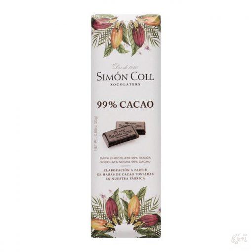 Simon Coll 99% étcsokoládé 25g