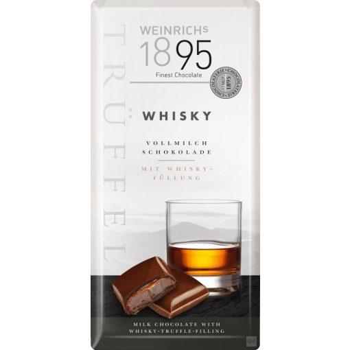 Weinrich's tejcsokoládé Whisky trüffelkrémmel töltve 100g
