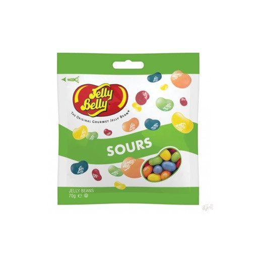 Jelly Belly Savanyú gyümölcs mix 70g