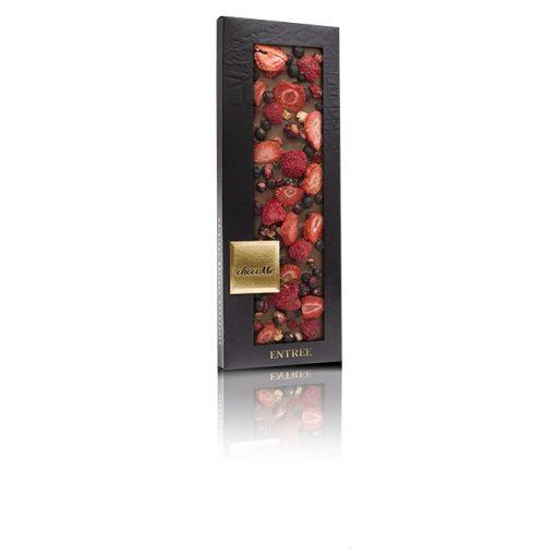 ChocoMe tejcsokoládé (ribizli, eper, málna ) - G104