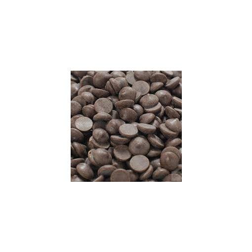 54,5% ét csokoládépasztilla belga  (10 gr)