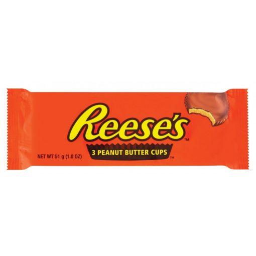 Reese's mogyoróvajas csokoládé 3x17g (51g)