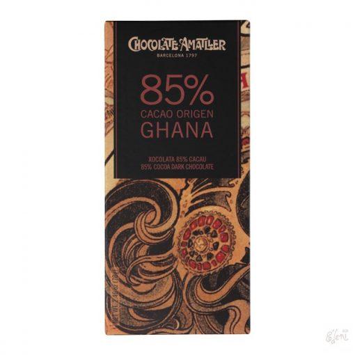 Chocolate Amattler Ghana 85% étcsokoládé 70g
