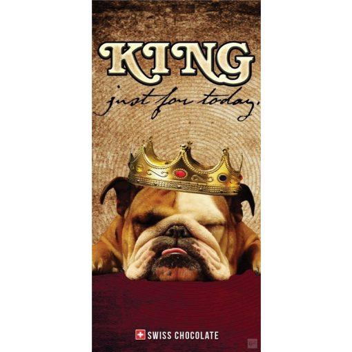 Fantastick tejcsokoládé 'King just for today' 100g