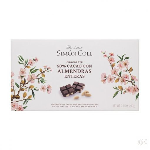 Simon Coll 70% étcsokoládé mandulás 200g