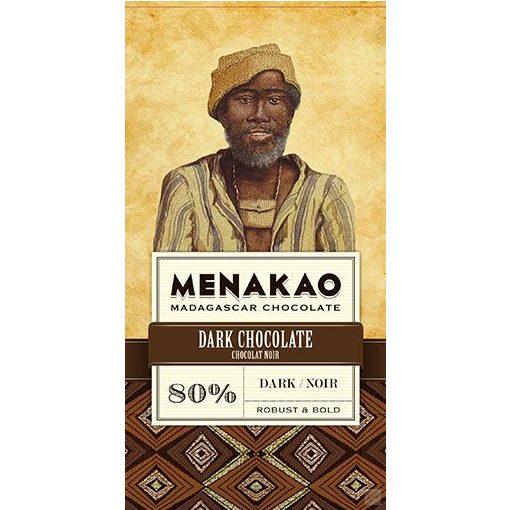 Menakao madagaszkári 80% étcsokoládé 75g