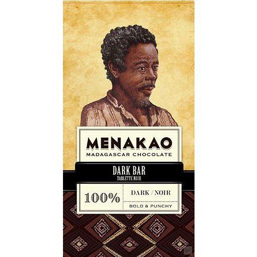Menakao madagaszkári 100% étcsokoládé 75g