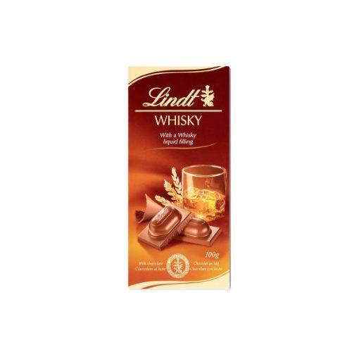 Lindt tejcsokoládé Whisky-s 100g