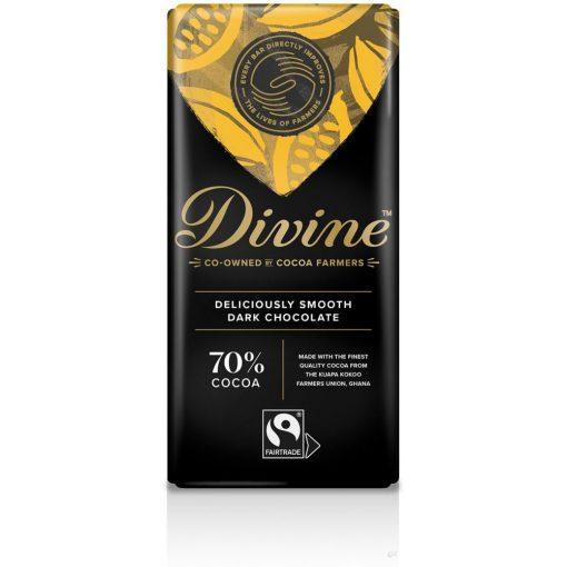 Divine 70% étcsokoládé 90g