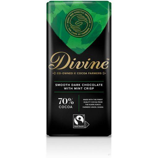 Divine 70% étcsokoládé metás 90g