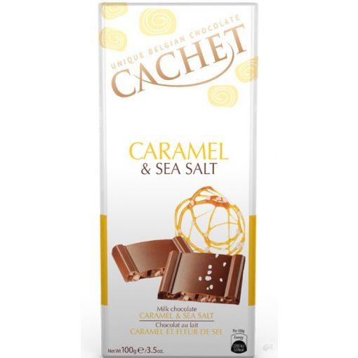 Cachet tejcsokoládé sós karamellás 100g