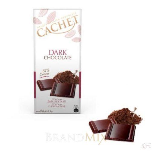 Cachet 57% étcsokoládé 100g