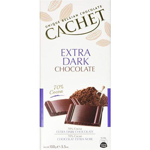Cachet 70% étcsokoládé 100g