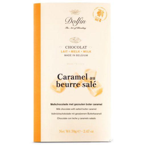 Dolfin tejcsokoládé sós-karamellás 70 g