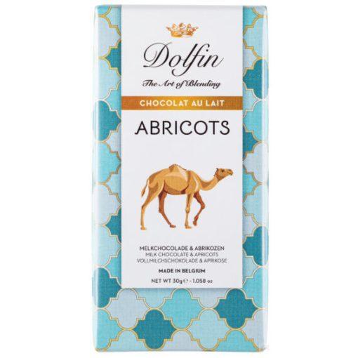 Dolfin tejcsokoládé Marokkói sárgabarackkal 30g