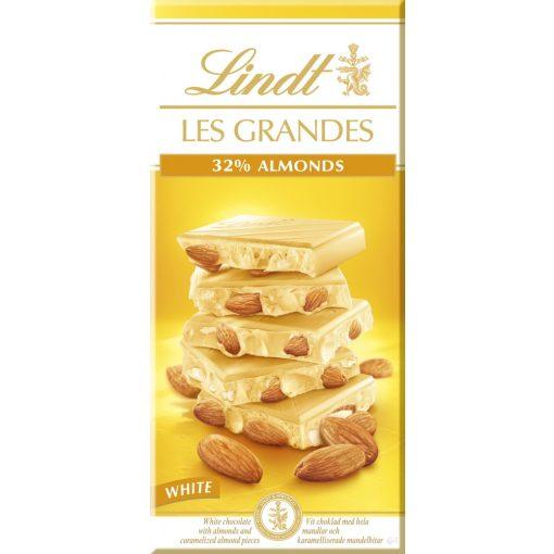 Lindt 'Les Grandes' fehércsokoládé mandulás 150g