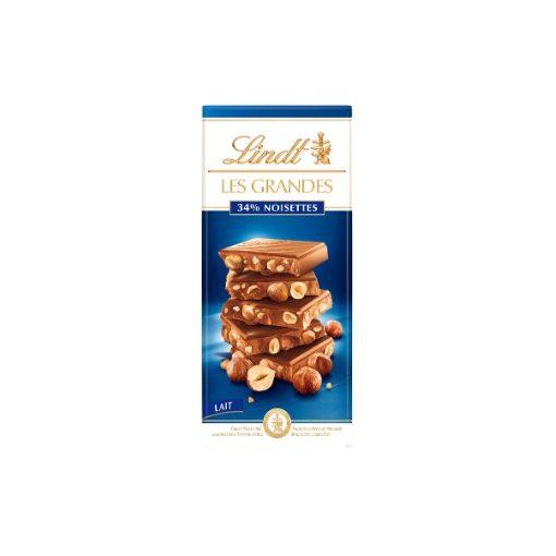 Lindt 'Les Grandes' tejcsokoládé mogyorós 150g