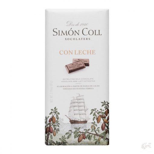 Simon Coll 35% tejcsokoládé 85g