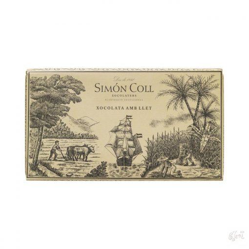 Simon Coll tejcsokoládé 200g