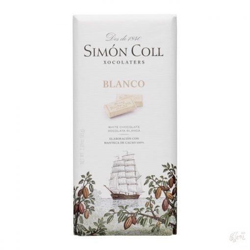 Simon Coll fehércsokoládé 85g