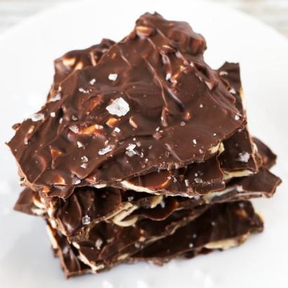 Rusztikus, mandulás csokoládé